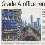 "Grade A Office Rental ""to Hit 6 Year High"""